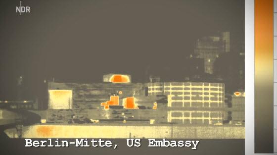 US Embassy in Berlin - IR Image