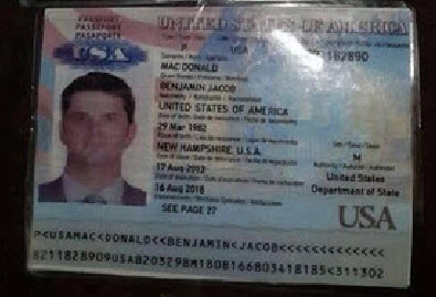 Macdonald passport