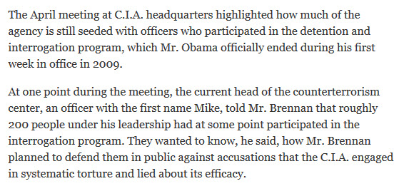 Source: NY Times, MARK MAZZETTI, July 25, 2014.